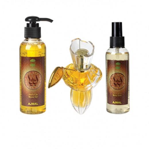 Ajmal Abia Gift Set For Her EDP 75ml + Shower Gel 150ml + Body Mist 150ml