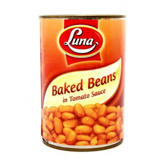 Luna Baked Beans In Tomato Sauce 400g