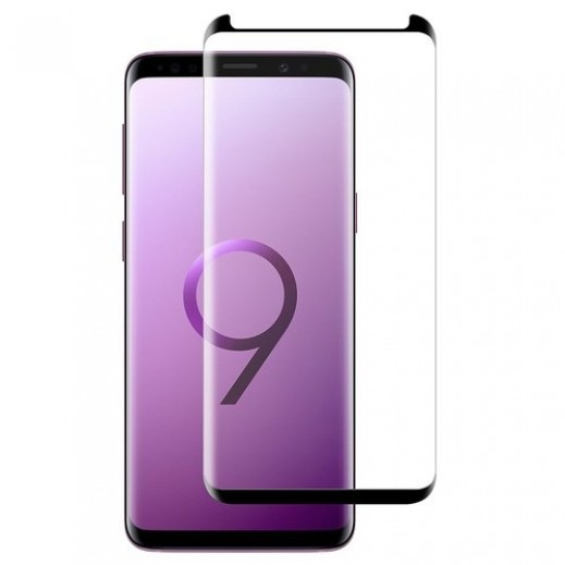 Screen Protector for Samsung S9+ Glass – Black