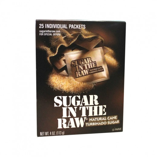 Sugar In The Raw 25 sachets 113 g