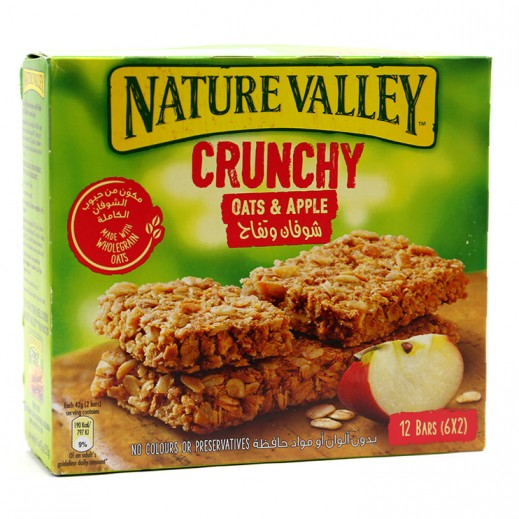 Nature Valley Crunchy Oats & Apple Granola Bars 252 g