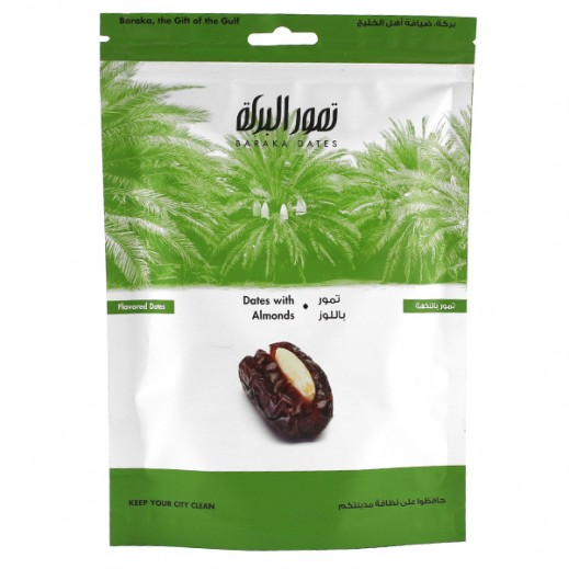 Baraka Almond Dates (Bag) 125 g