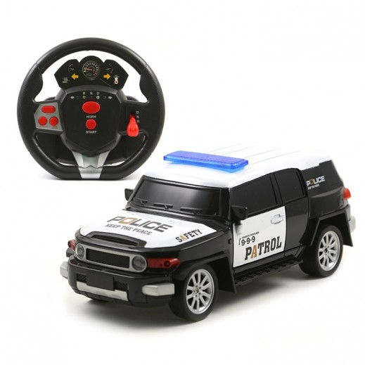 Desert king Charging Rc Police Car