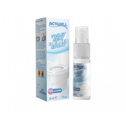 Actiwell Toilet Seat Cleaner Spray 50 ml