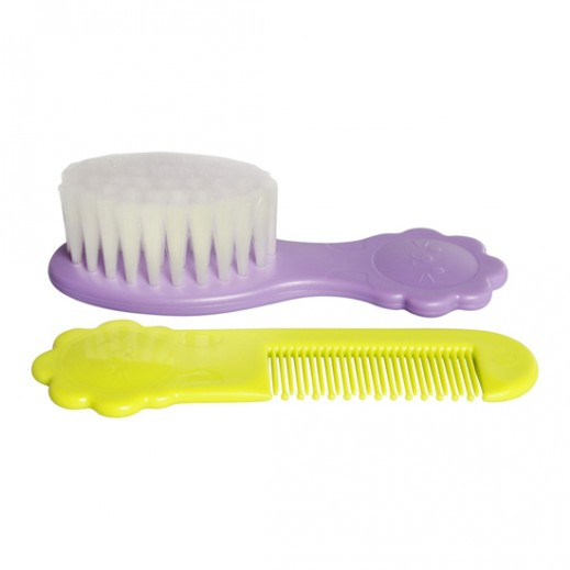 Pigeon Comb and Hair Brush Set