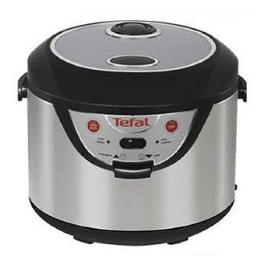 Tefal Rice Cooker 3in1 Black/Silver RK203E27