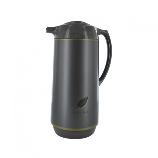Zojirushi AGYE16 Handy Pot Flask 1.55 ltr with Head Button Herb Brown