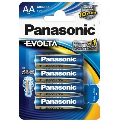 Panasonic Evolta Alkaline Battery 1.5 v AA Size (4PCS)