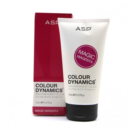 A.S.P colour Dynamics Magic Magenta Semi Permanent Hair Color 150 ml
