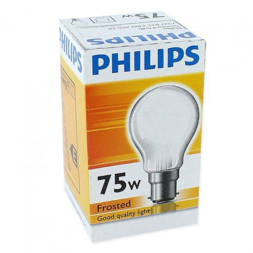 Philips Classictone 75 W B22 Frosted