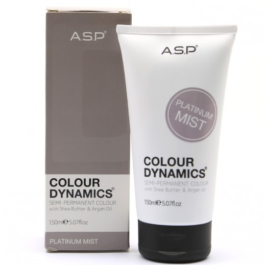 A.S.P colour Dynamics Platinum Mist Semi Permanent Hair Color 150 ml