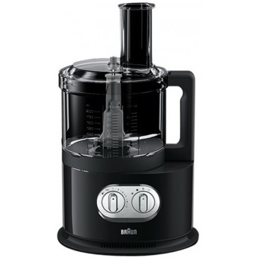 Braun IdentityCollection Food Processor Black  - delivered by Union Trading