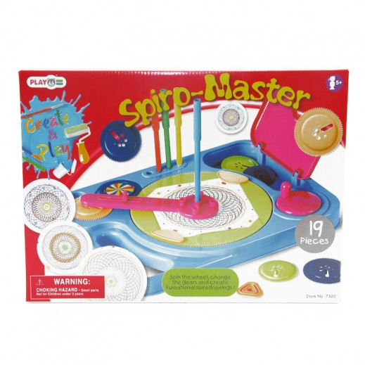 PlayGo Spiro Master Drawing Set