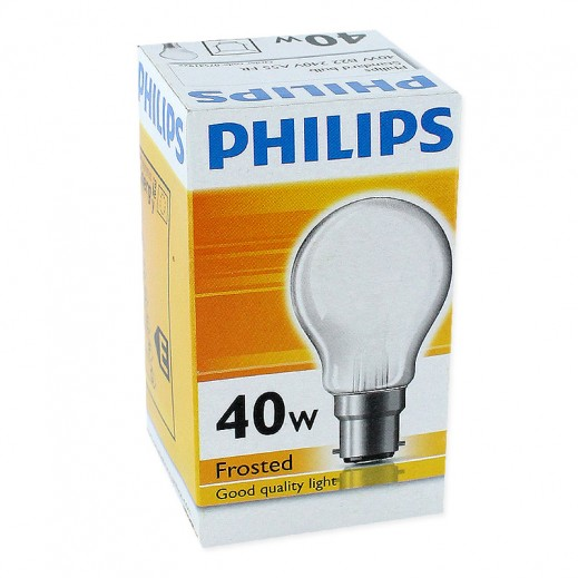 Philips Classictone 40 W B22 Frosted