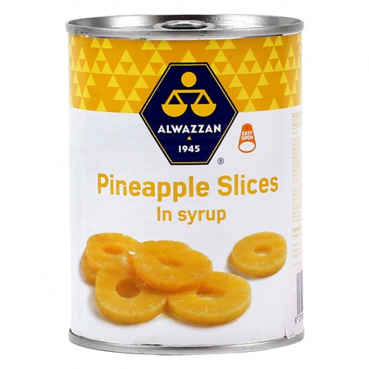 Al Wazzan Pineapple Slices (in Syrup) 340 g