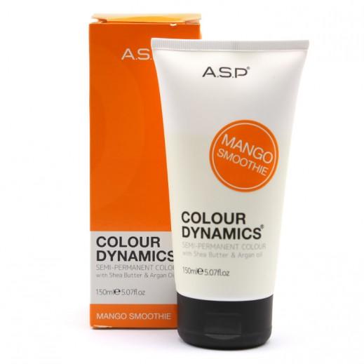 A.S.P colour Dynamics Mango Smoothie Semi Permanent Hair Color 150 ml