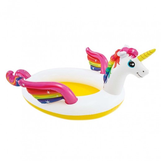 Intex Mystic Unicorn Spray Paddling Pool