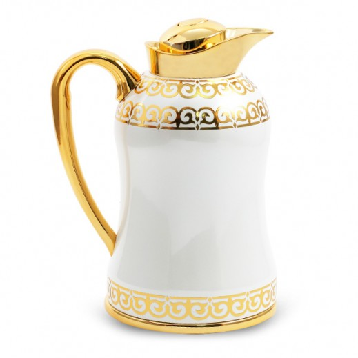 Mydot Deluxe Flask 1 Ltr White Gold