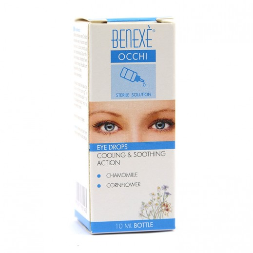 Benexe Occhi Cooling & Soothing Action Eye Drops 10 ml