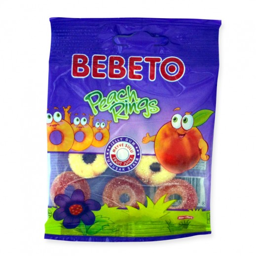 Bebeto Peach Ring 20 g