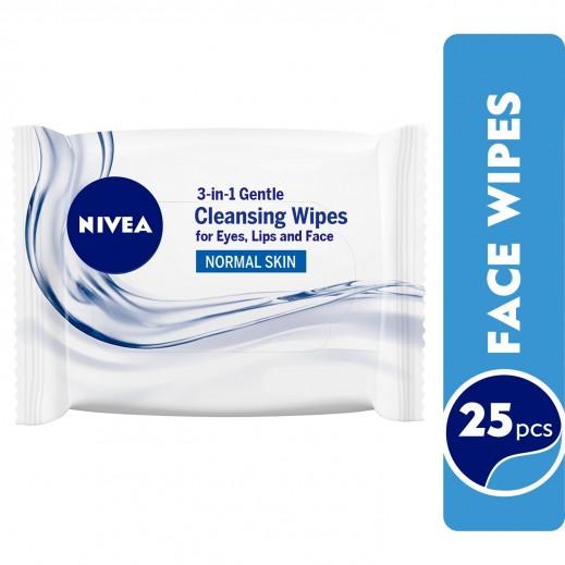 Nivea Refreshing Facial Cleansing Wipes 25 pcs