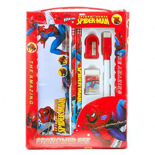 Buy Marvel Spiderman Stationery Set Red توصيل Taw9eel Com