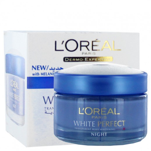 Loreal White Perfect Night Fairness Cream 50 ml