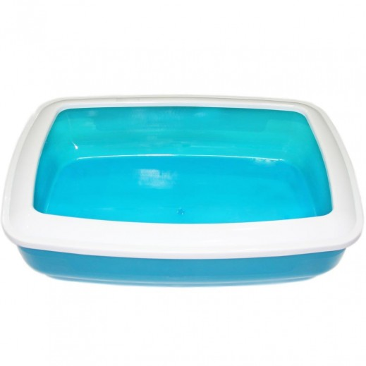 Cat Litter Tray 48x36 cm (Blue) (Assorted)