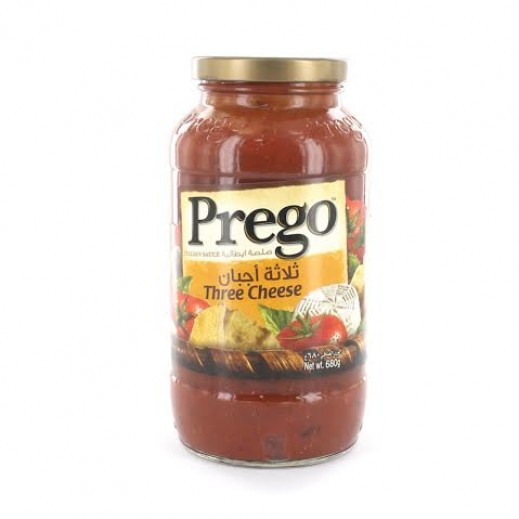 Prego Three Cheese Sauce 680 g