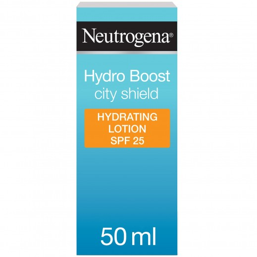 Neutrogena Face Moisturizer Hydro Boost City Shield SPF 25 50 ml