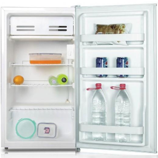 Midea Single Door Refrigerator 121 L 4.2 Cft - White