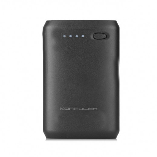 Konfulon Power Bank 7800mAh Dual USB Black