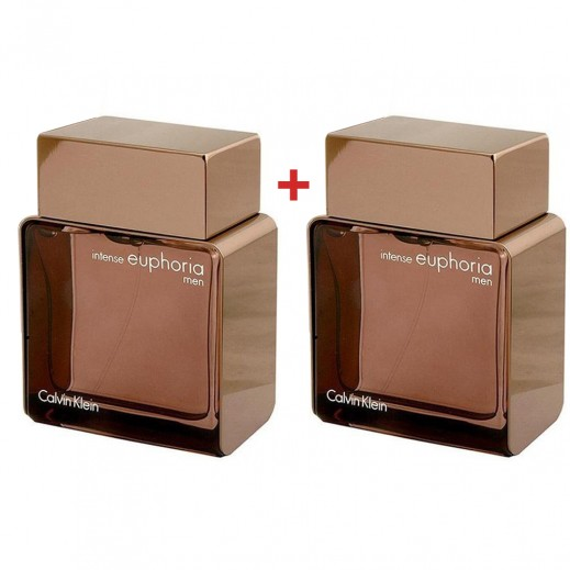 Set Of 2 Calvin Klein Intense Euphoria For Men 100 ml EDT