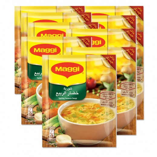 Wholesale - Maggi Spring Season Soup 59g (12 Pieces)