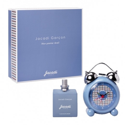 Jacadi Le Garcon (Boy) For Kids EDT 100ml + My First Alarm Set