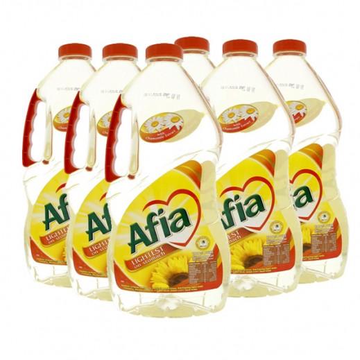 Wholesale - Afia Sun Flower Oil 1.8 L (6 pieces)