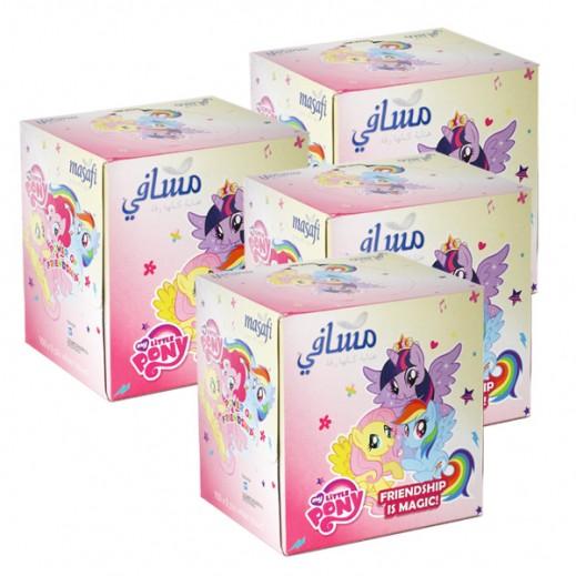 Masafi (Little Pony) White 100 Tissue (4 Pieces)