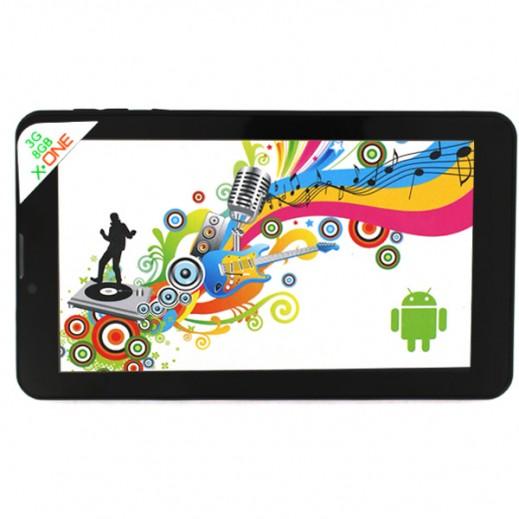 X-ONE Tablet 7 8GB 3G Black