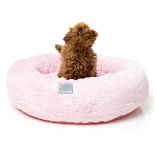 Fuzzyard Eskimo Pink Bed (53x53x10 cm)