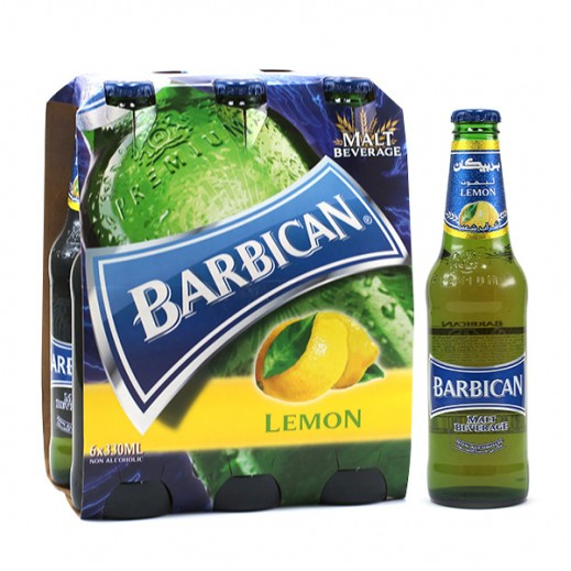Barbican Lemon Malt Beverage 6 x 330 ml