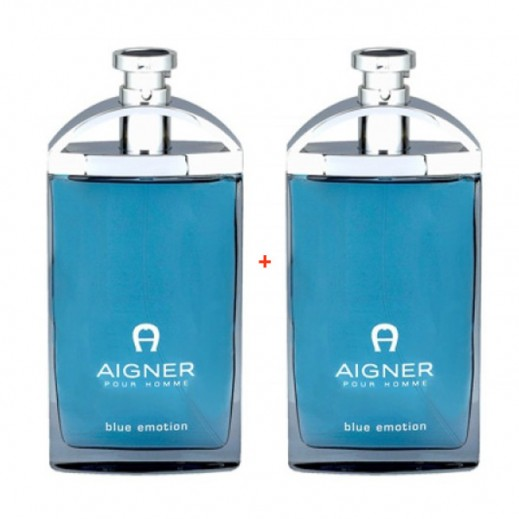 Aigner Pour Homme Blue Emotion For Him EDT 100 ml (1+1 Free)