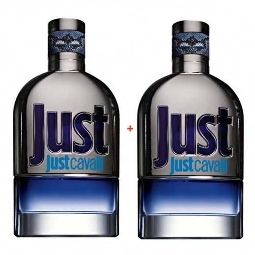 Just Cavalli Blue For Him EDT 90 ml (1+1 Free)