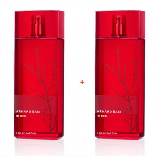 Armand Basi In Red For Her EDP 100 ml (1+1 Free)