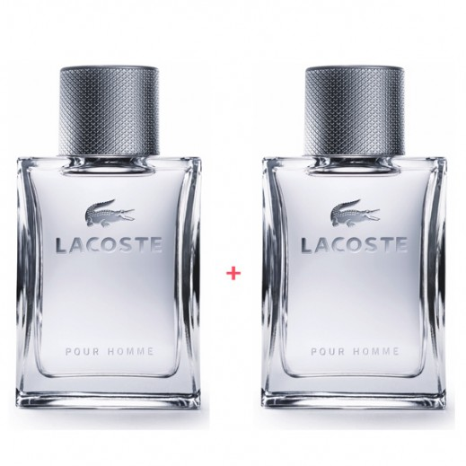 Lacoste Pour Homme For Him EDT 100 ml (1+1 Free)