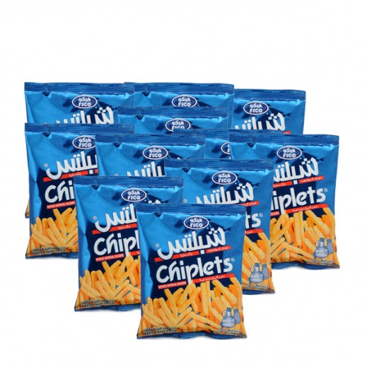 Fico Chiplets Salt Vinegar 15 g (20 Pieces)