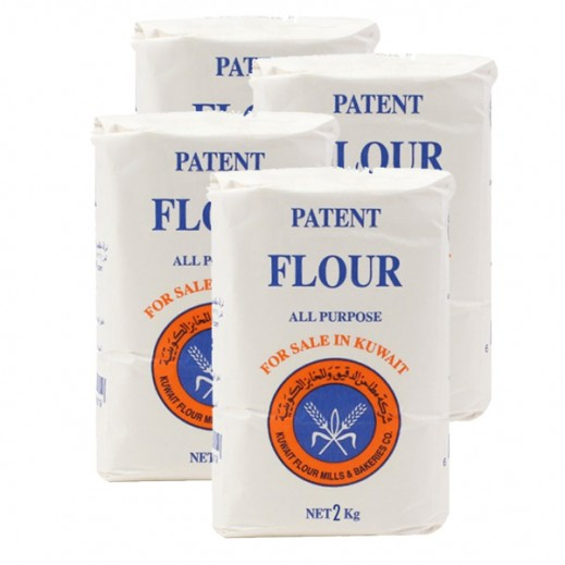KFM Patent All Purpose Flour 2 kg (4 Pieces)