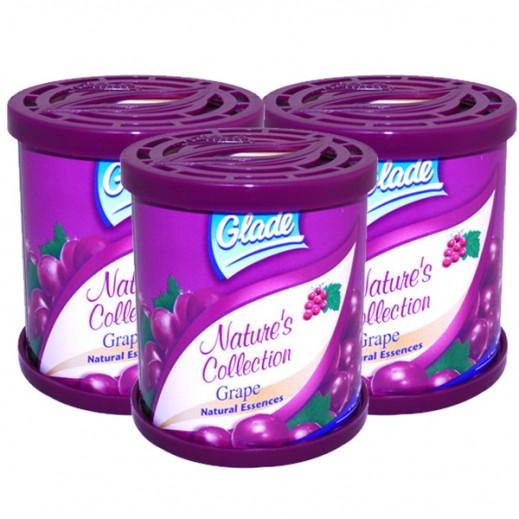 Value Pack - Glade Natures Collection Grape 70 g (3 Pieces)