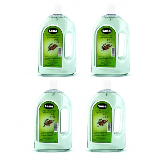 Value Pack - Sana Disinfectant Pine 750 ml (4 Pieces)