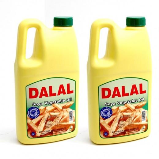 KFM Dalal Soya Vegetable Oil 2 L (2 Pieces)