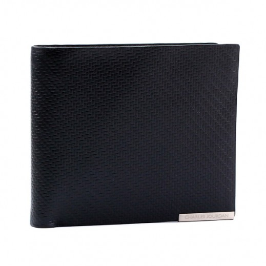 Charles Jourdan JLP814 Leather Wallet Black